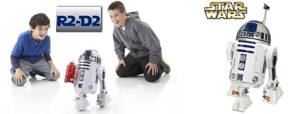 Star Wars Interactive R2D2 Astromech Droid Robot