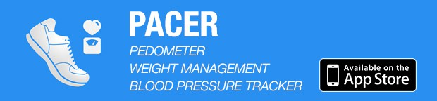 Pacer Pedometer App for iPhone