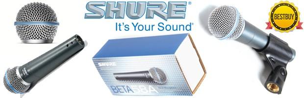 Cardioid mic Shure BETA 58A (B0002BACB4)