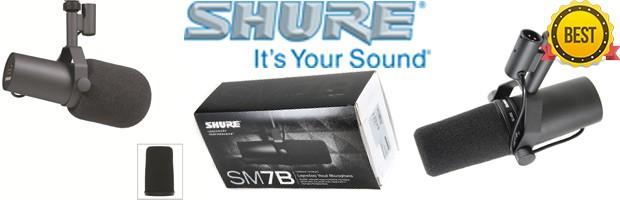 Cardioid mic Shure SM7B (B0002E4Z8M)