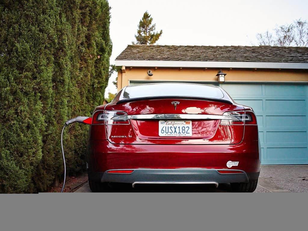 Telsa Model S Charging